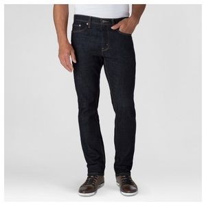 Levis Denizen 232 Slim Straight Dark Blue Jeans